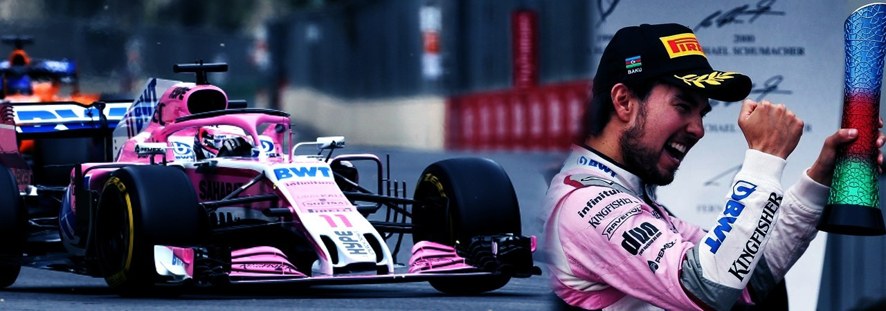 Formula 1 podio per la Force India