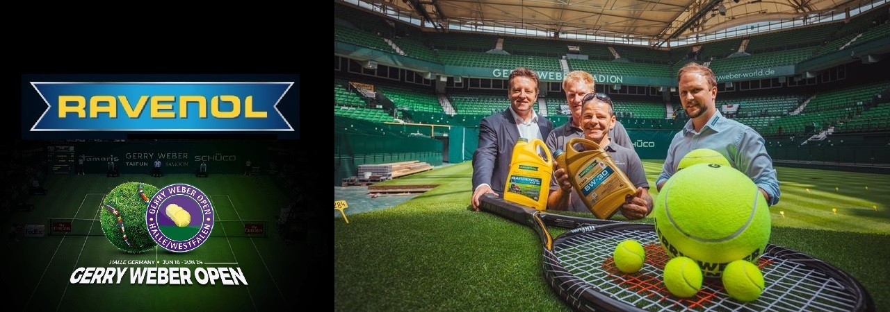 Ravenol partner del Gerry Weber Open