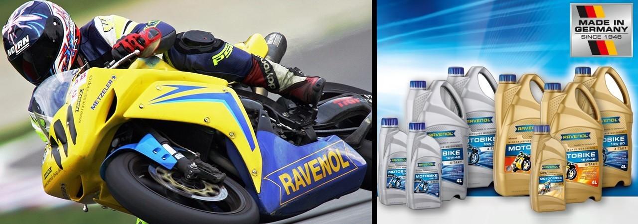 Lubrificanti Ravenol per Moto & Scooter