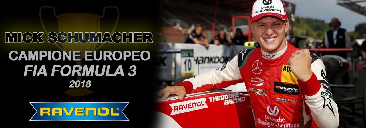 Mick Schumacher - Campione FIA Formula 3